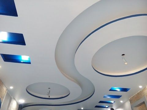 جبس بورد Youtube False Ceiling Design Ceiling Design Living Room False Ceiling