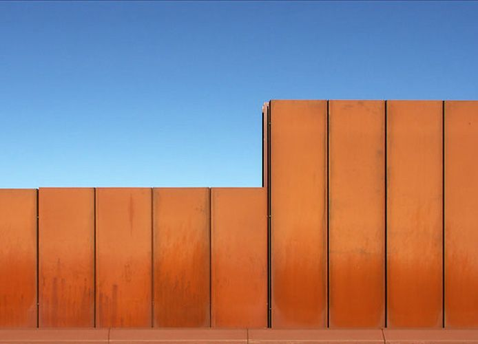 Highway Noise Walls As Landscape Art Geelong Ring Road Australia Larmschutz Wand