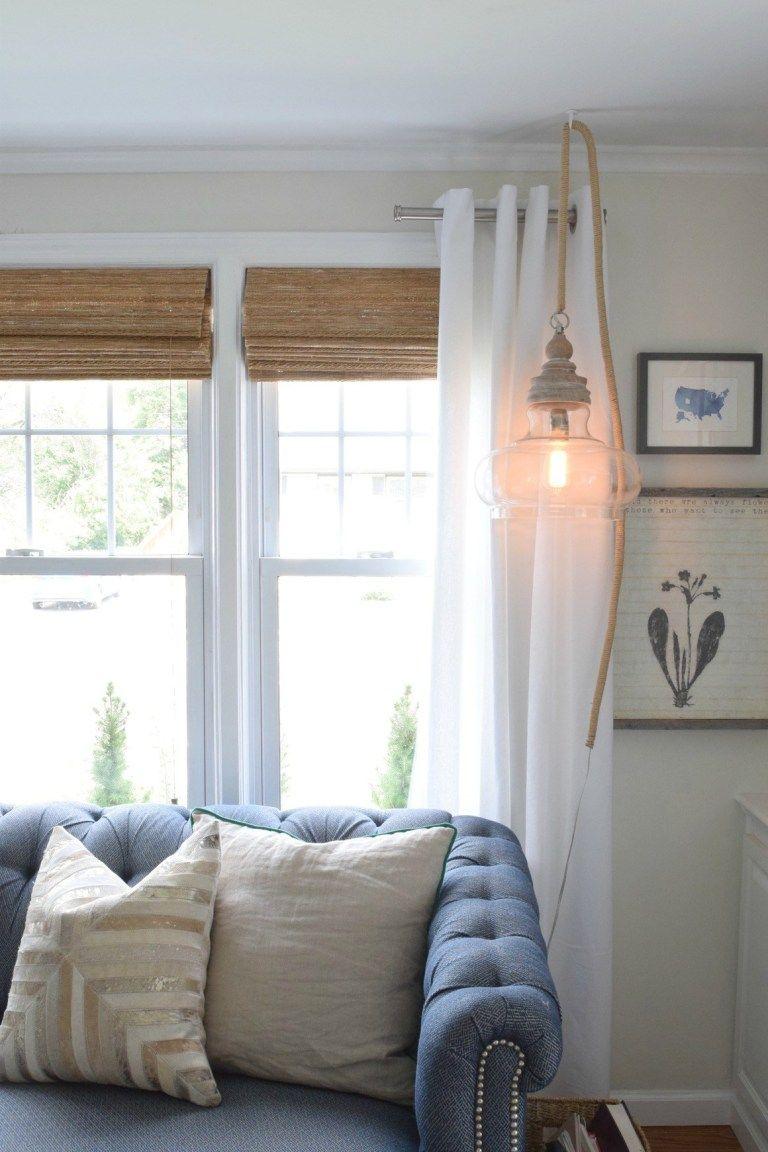 Hanging Pendant Light DIY #pendantlighting