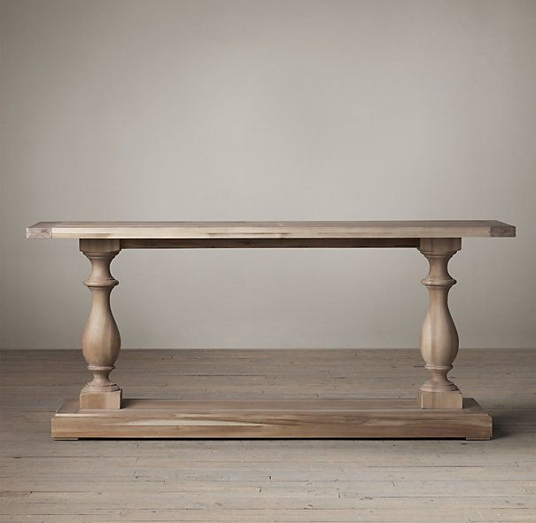Sofa Tables · 17th C. Monastery Console Table From Restoration Hardware.