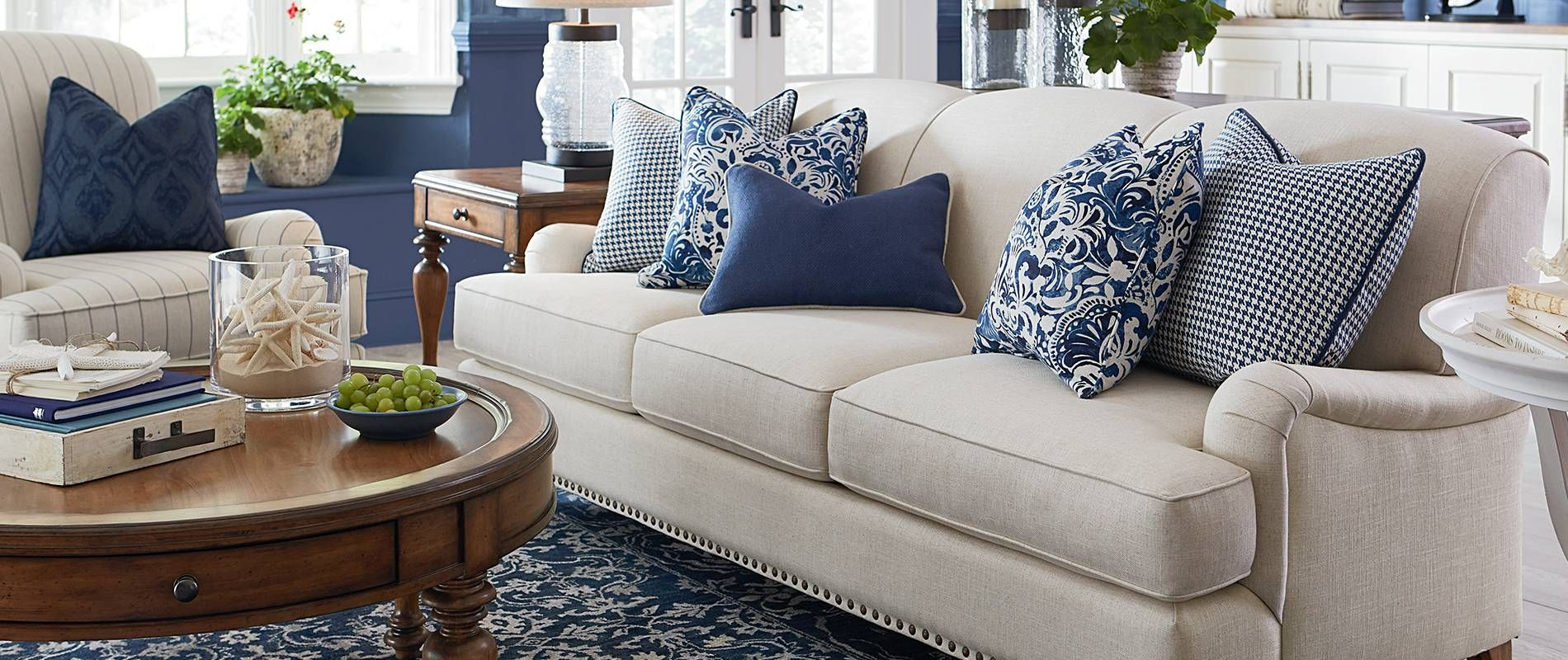 furniture you'll love  blue living room couches living
