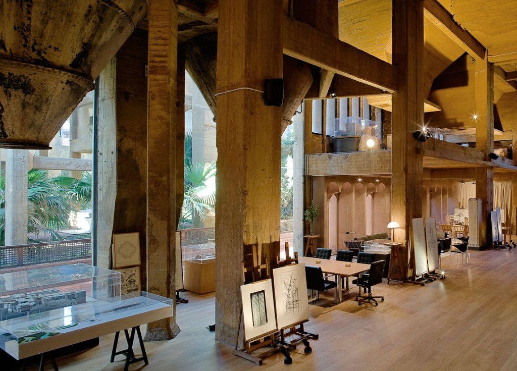 ricardo bofill la fabrica taller arquitectura santjustdesvern barcelona spain workspace 1. Black Bedroom Furniture Sets. Home Design Ideas