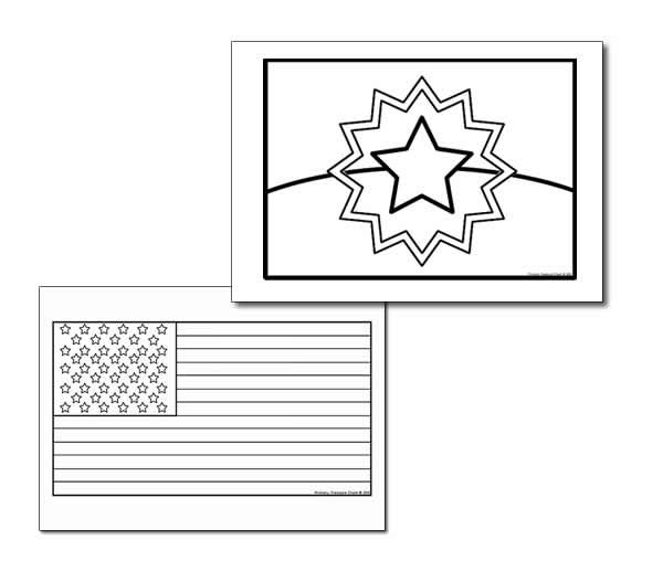 Juneteenth Flag Coloring Sheet Happy Learners Resources Kids