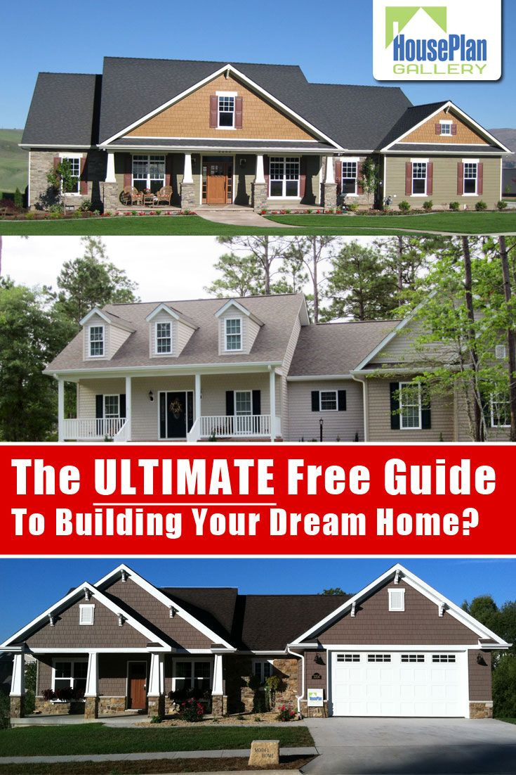 100 Free Dream Home Success Kit From Houseplangallery Com Build Your Dream Home House Plans Dream House Exterior