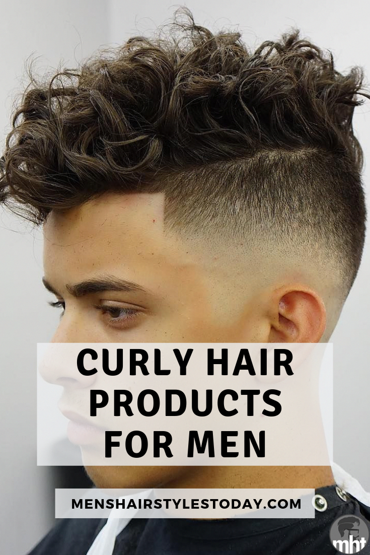 Best Curly Hair Products For Men Men S Hair Styling Products Style The Best Men S Curly Hairstyle Curly Hair Styles Fade Haircut Curly Hair Curly Hair Fade