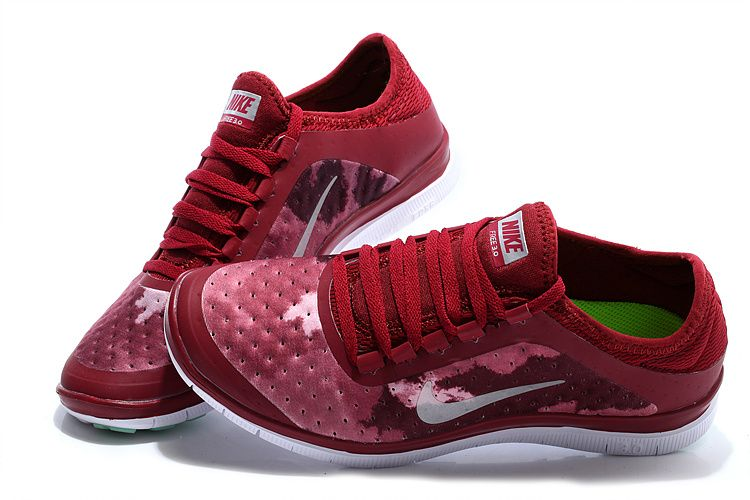 red nike running shoes womens