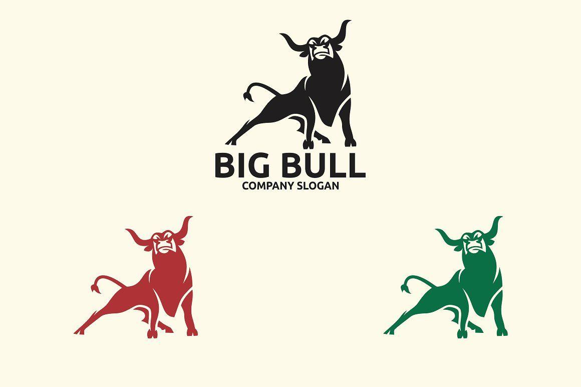 Big Bull Logo Bull Logo Bull Logo Branding Identity