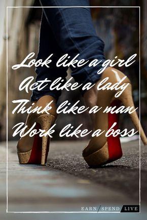Act like a Lady WORK like a BADASS