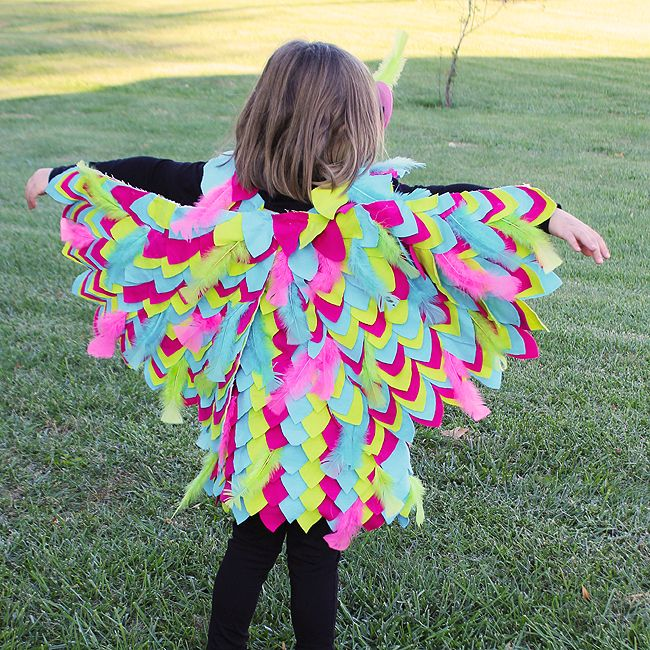 These no sew owl wings are great for dress up or perfect for that halloween ideas these no sew owl wings are great for dress up or perfect for that halloween costume solutioingenieria Images
