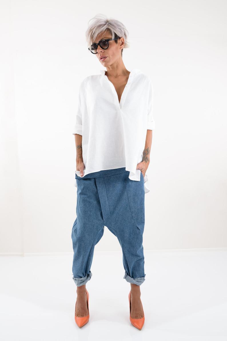 Linen Shirt, Linen Tunic, Linen Top, Linen Clothing, Linen Blouse, Linen Shirt Women #linentunic