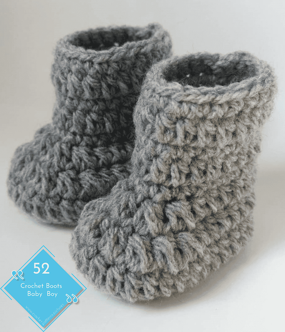 Photo of 52 Crochet Boots With Modern Patterns For Baby Boys. Advice Model: 40