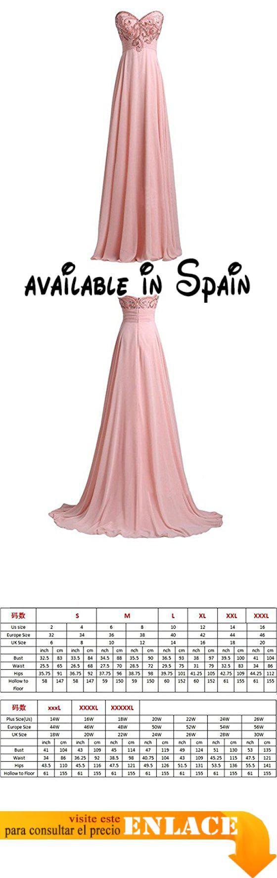 B072LPQT4K : Stomacher gran vestido de boda vestido de dama de honor ...