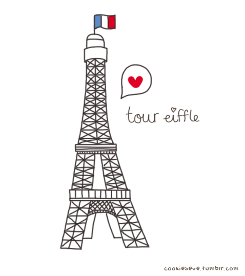 Eiffel Tower Doodle Tumblr | www.imgkid.com - The Image ...