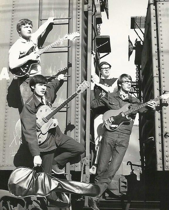 Neil Young with The Squires, 1965
