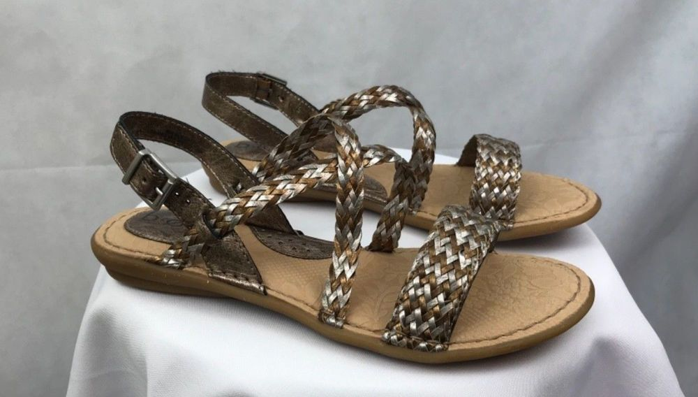 4cabd4d5c Women s B.O.C. Born Concept Indie Sandals Rose Gold and Pewter Size 8 NIB   fashion  clothing  shoes  accessories  womensshoes  sandals (ebay link)