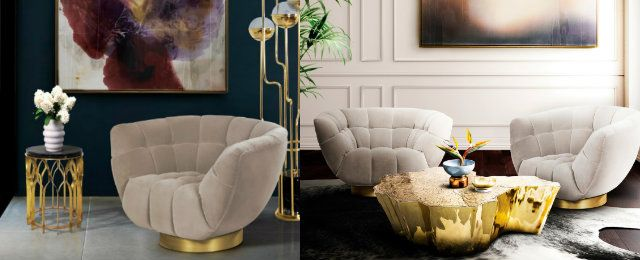 5 Erstaunliche Samt Stühle für kleine Wohnzimmer