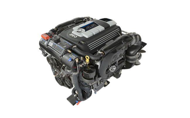 The new Mercury MerCruiser 4.5L 250hp engine