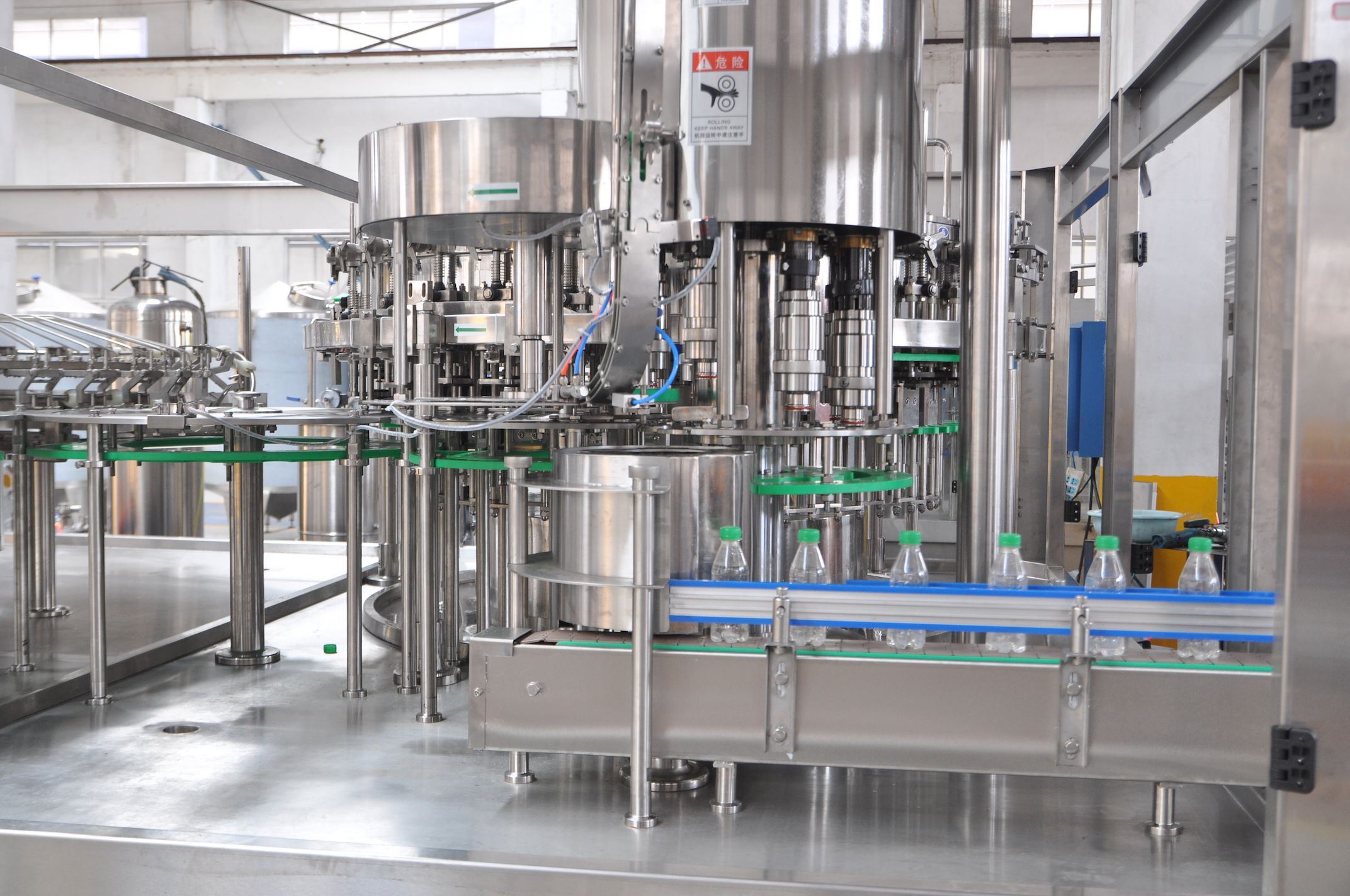 3 In 1 Rotary Filling Machine Water Filling Machine Application Still Water Pure Water Ro Water Mineral Water S Pet Bottle Still Water Filling System