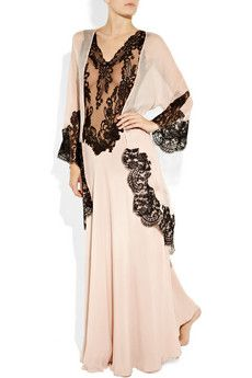Are we wearing pj's for night gown? Now that is beautiful