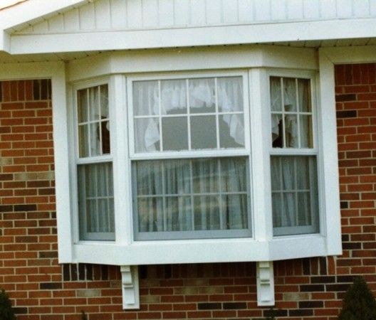 Exterior, Bay Window Designs Windows Ideas Curtain Seat