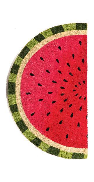 Have A Slice Door Mat Watermelon