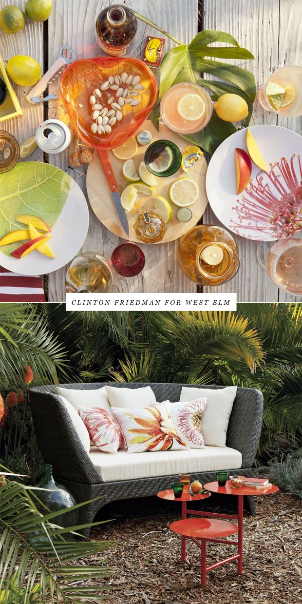 lovely setting!   West elm, Beautiful tablescapes, Outdoor ...