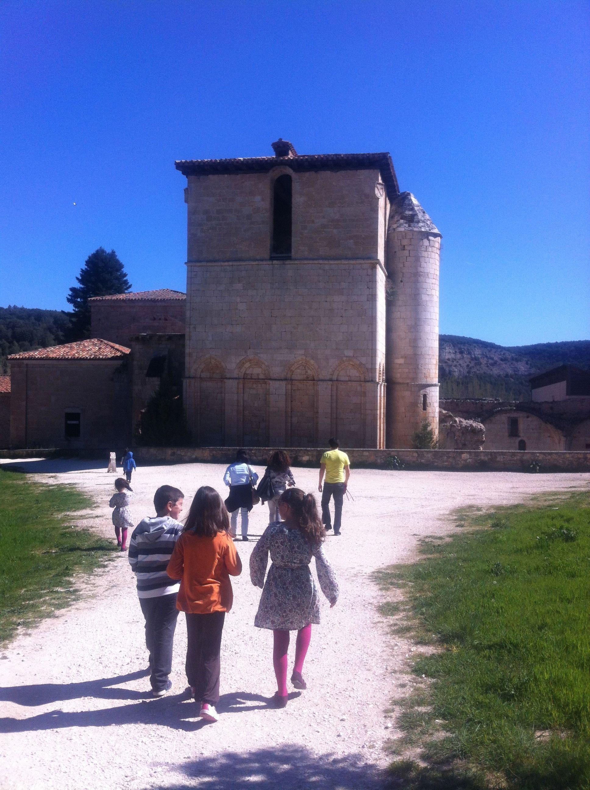 Monasterio de San Pedro de Arlanza (Burgos-Spain), cuna de Castilla.