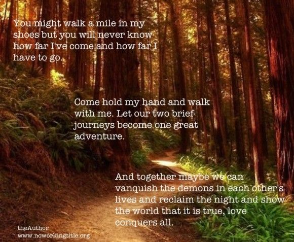 Walk With Me Love I Love You Quotes Hold My Hand Be