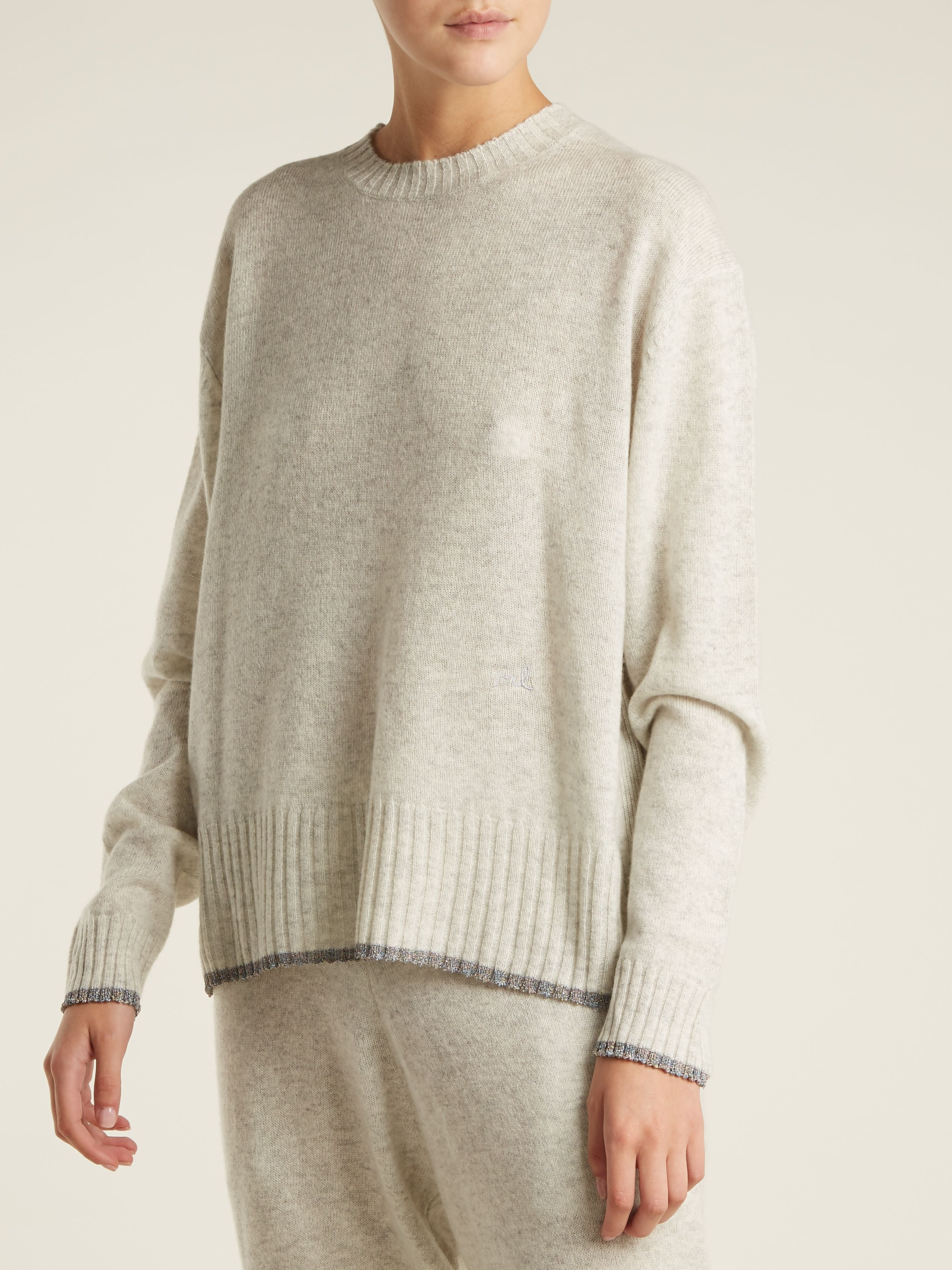 Click here to buy Morgan Lane Charlee cashmere sweater at ...