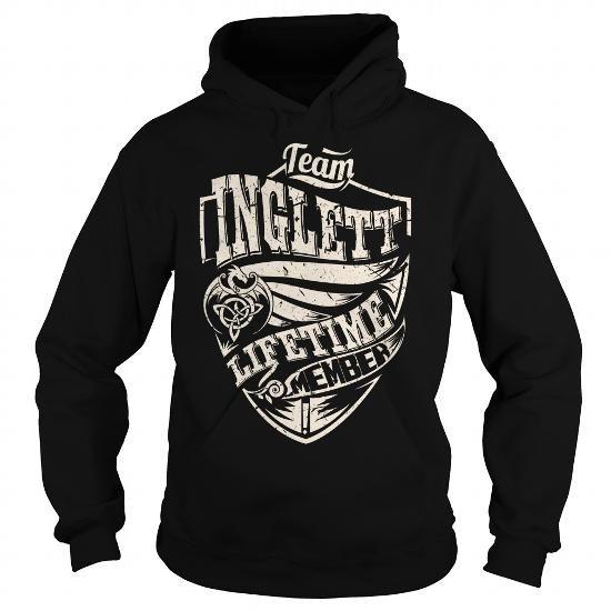 I Love Team INGLETT Lifetime Member (Dragon) - Last Name, Surname T-Shirt T shirts