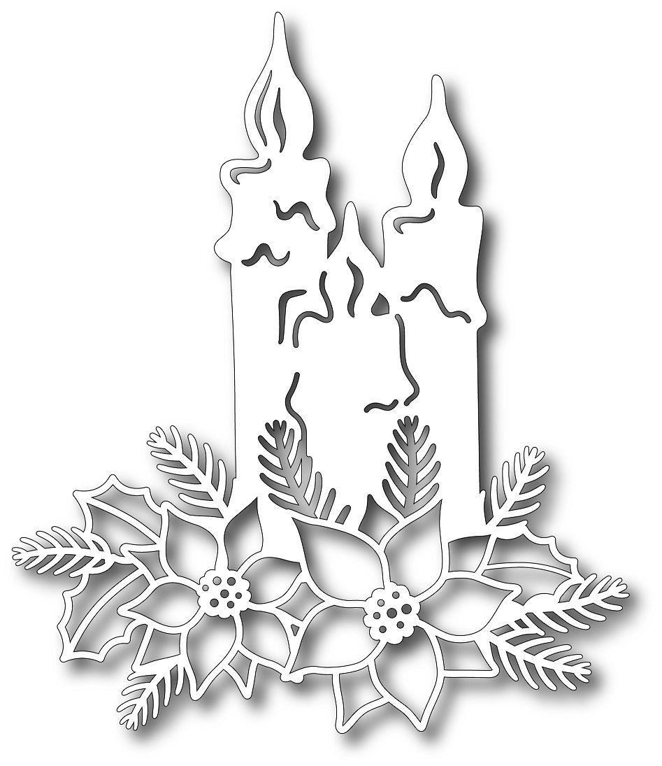 Tutti Designs - Cutting Die - Shining Candles,$12.99 | Filigrany ...