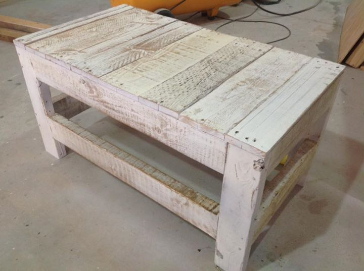 Pallet And Cable Spool Table Set