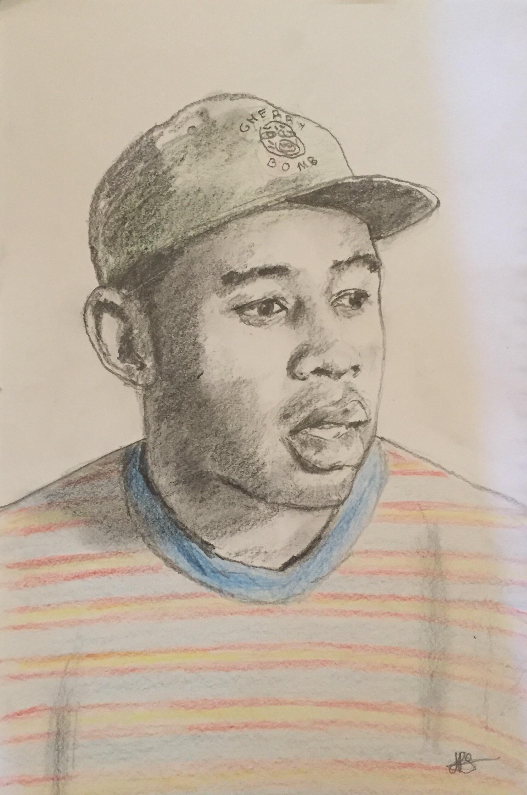 Tyler The Creator Drawing : tyler, creator, drawing, Tyler, Creator, Pencils, 8x12
