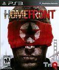 Homefront (Sony PlayStation 3 2011)