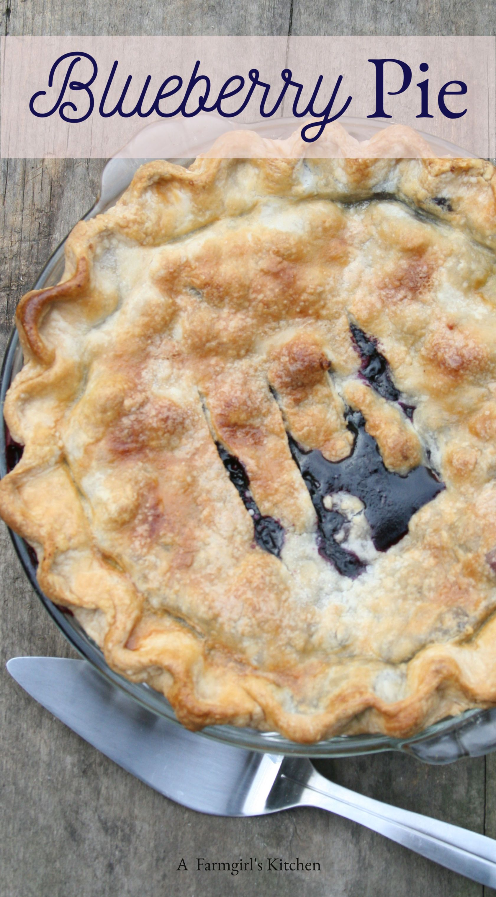 Get baking this summer with homemade blueberry pie