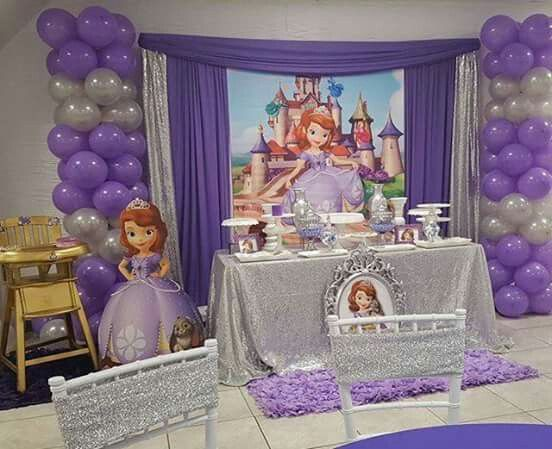 Princes Sofia Princess Sofia Party Sofia The First Birthday Decorations Ideas Para Fiestas 2nd Birthday Birthday Party Ideas Birthday Parties ... & Pin by Damaris de León Ruiz on baby cinderella | Pinterest