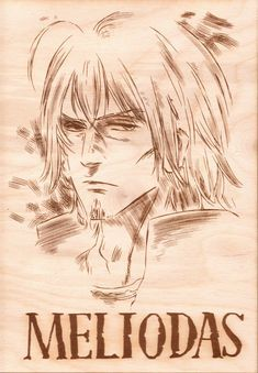 Seven Deadly Sins -Meliodas Wooden Wanted Poster - Default Title