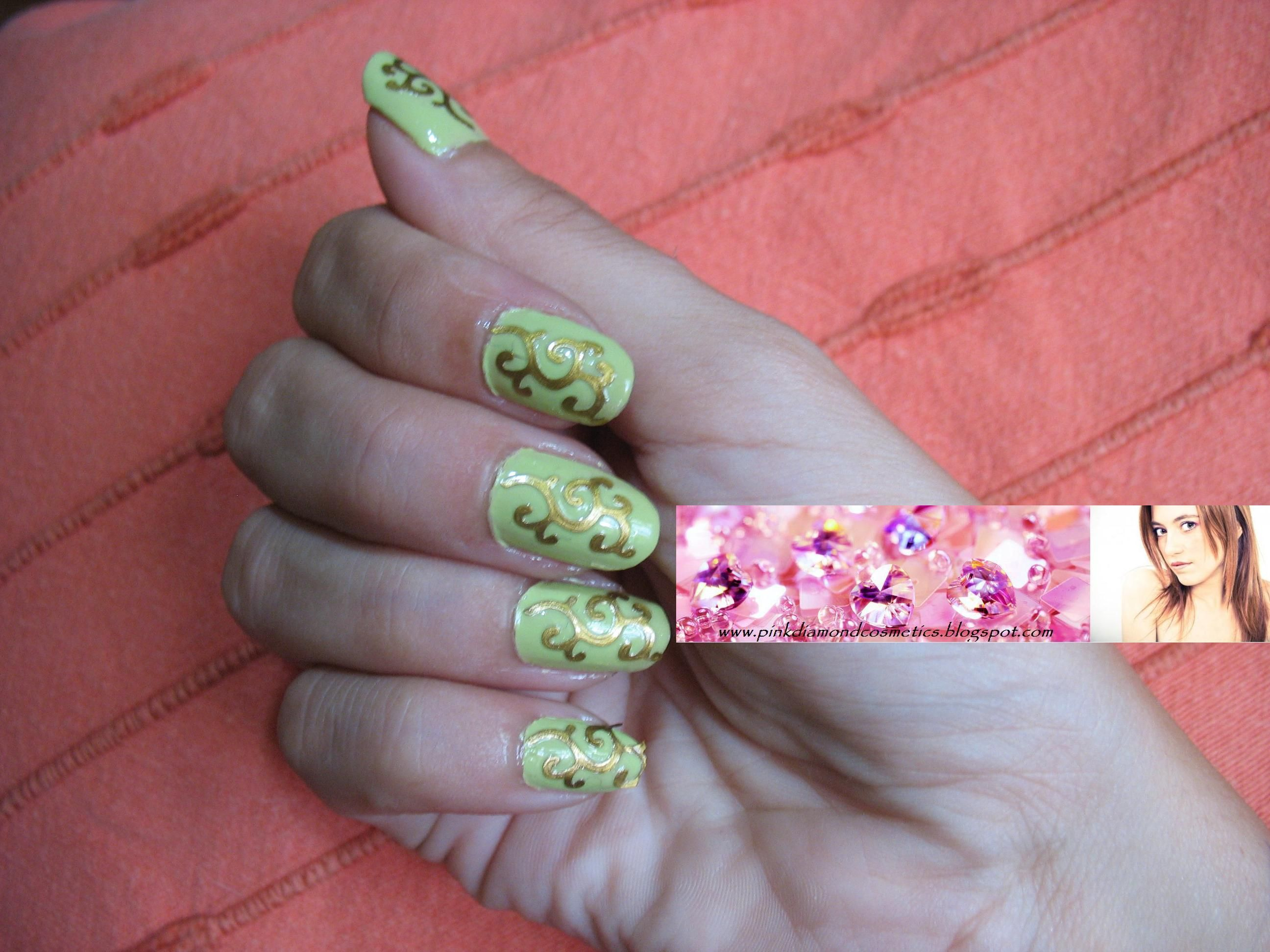 New Participants In The Contest Nail Art 1 Talent Week Of October