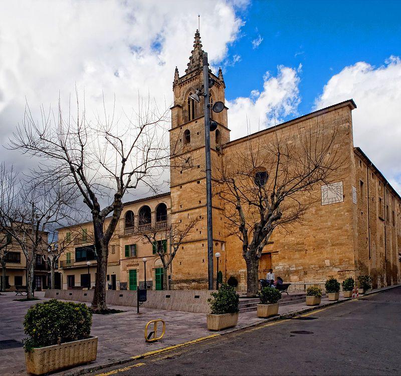 Mallorca Iglesia De S Félix En Llubí Mallorca Islas Baleares Edificios