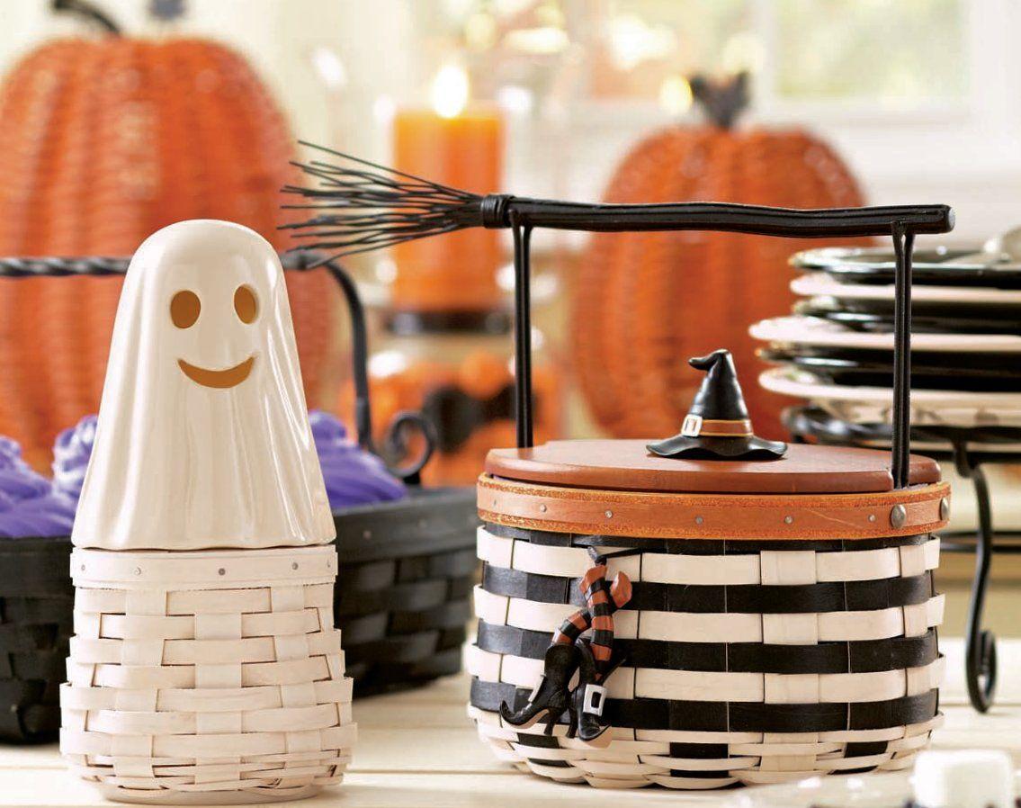 Boo & Witch Baskets #longaberger #halloween #2013 | Halloween ...