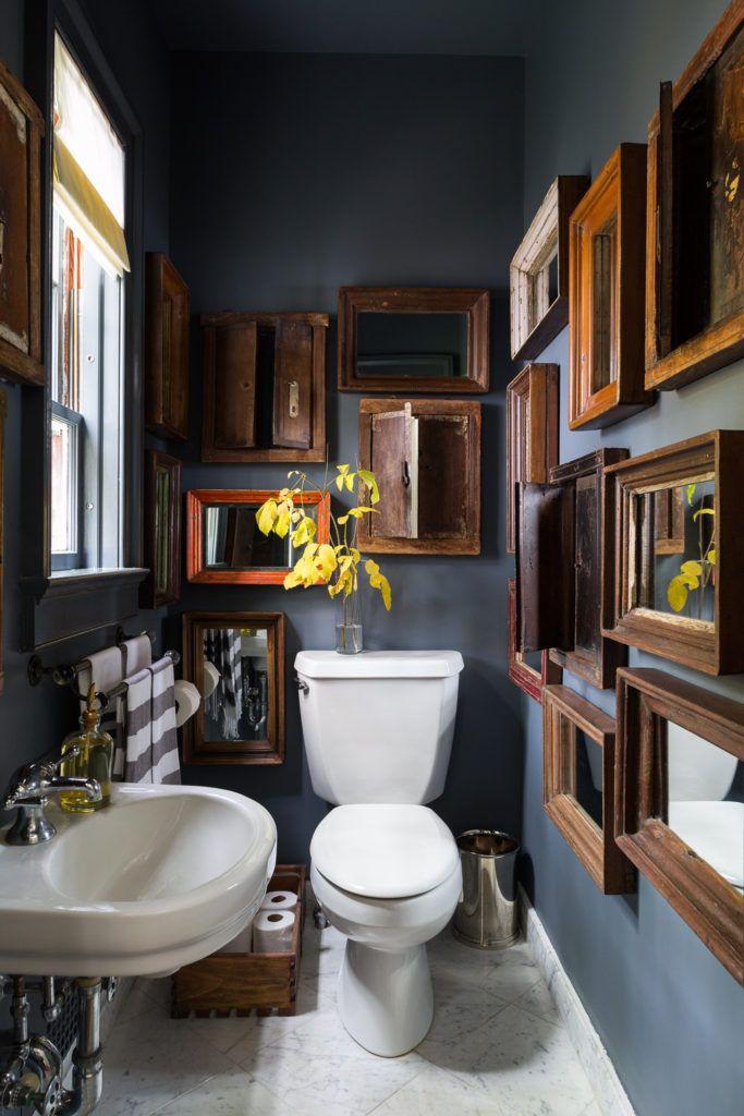 6 Tipps für die Badezimmer-Renovierung sehen erstaunlich aus - #dunklewände