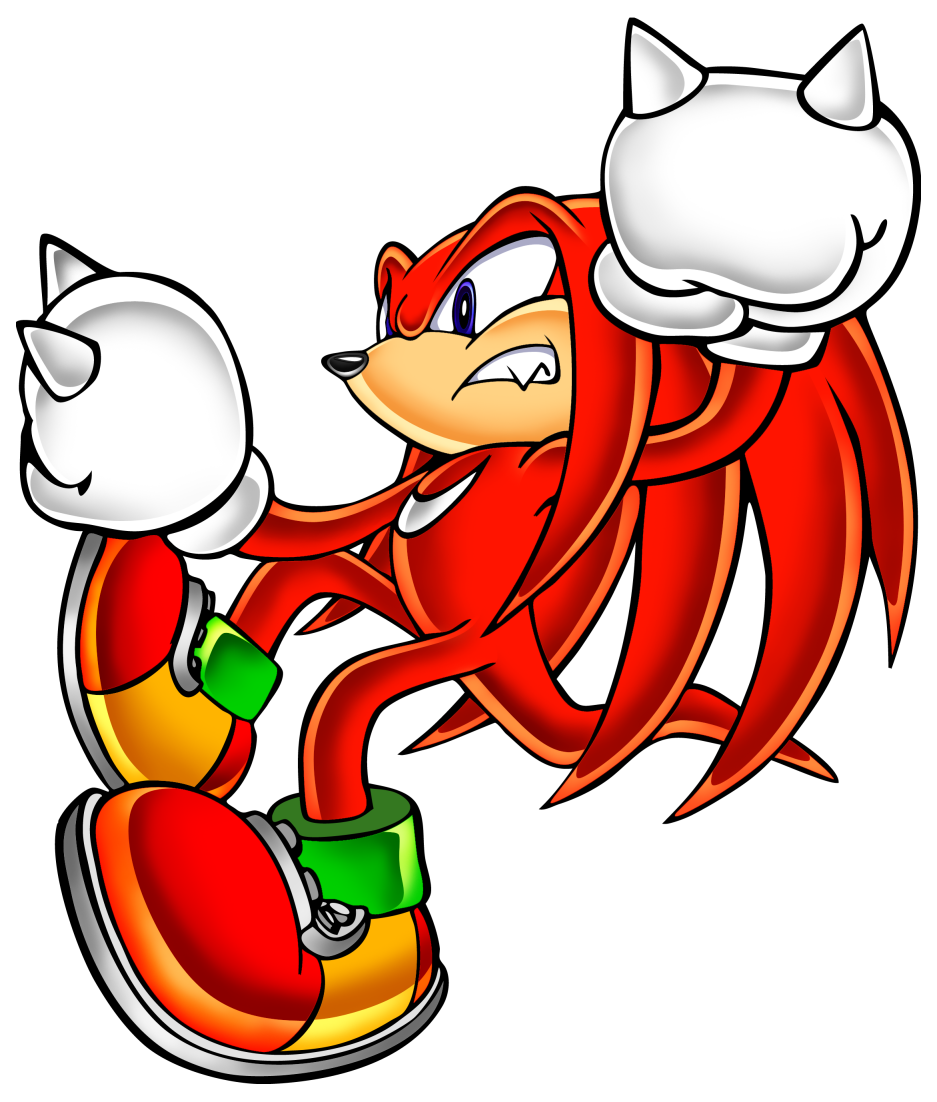 Sonic Adventure Knuckles The Echidna Gallery Sonic Adventure Echidna Sonic
