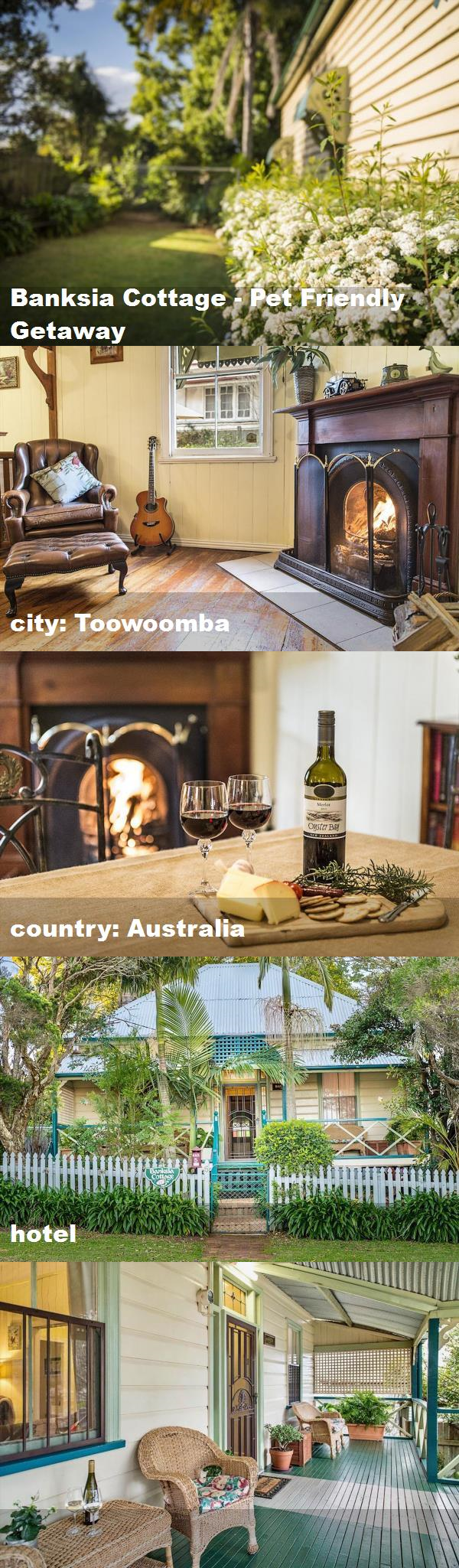 Banksia Cottage Pet Friendly Getaway, city Toowoomba