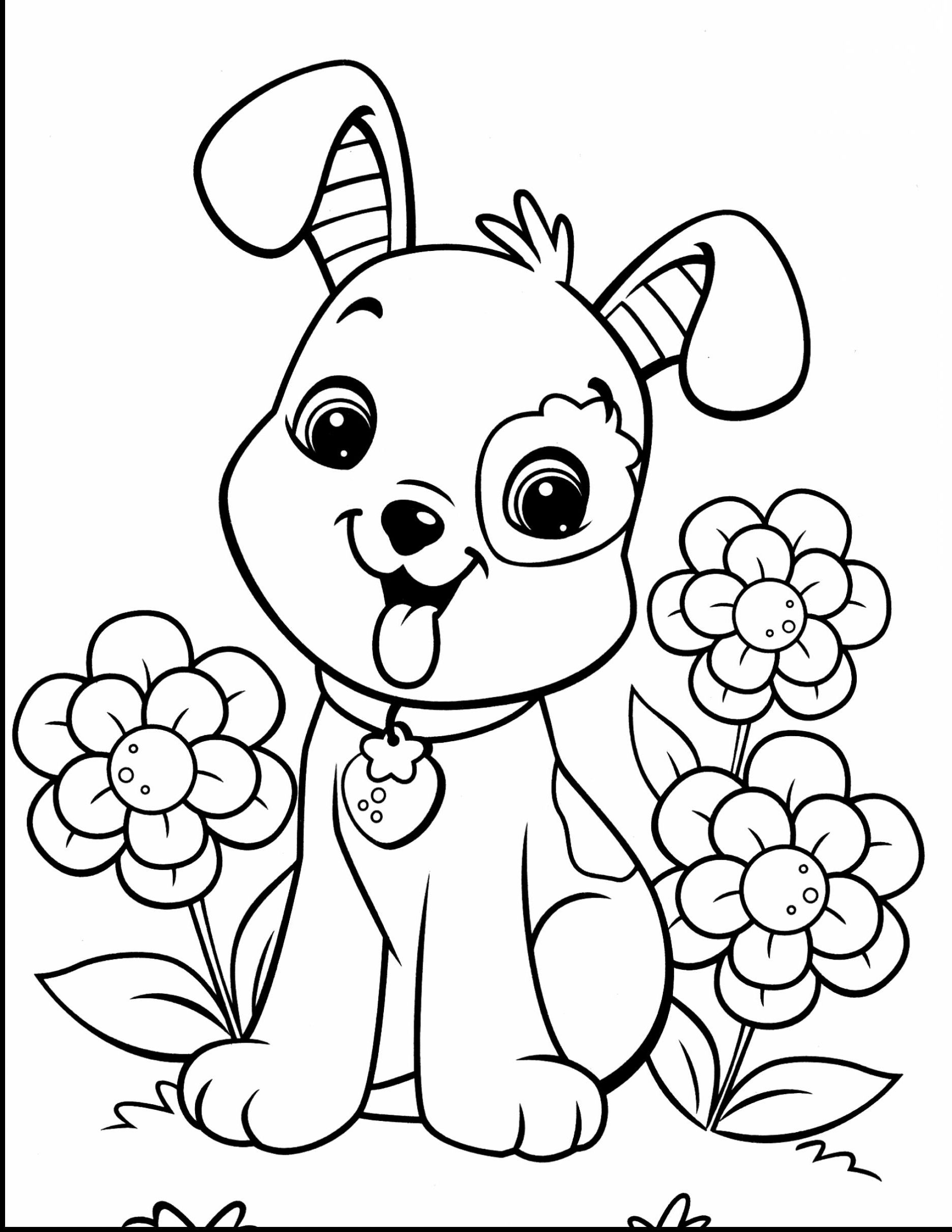 Dog Coloring Pages Puppy Coloring Pages Dog Coloring Page Cute Coloring Pages