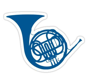 French Horn Silhouette Music Silhouette French Horn Silhouette Clip Art