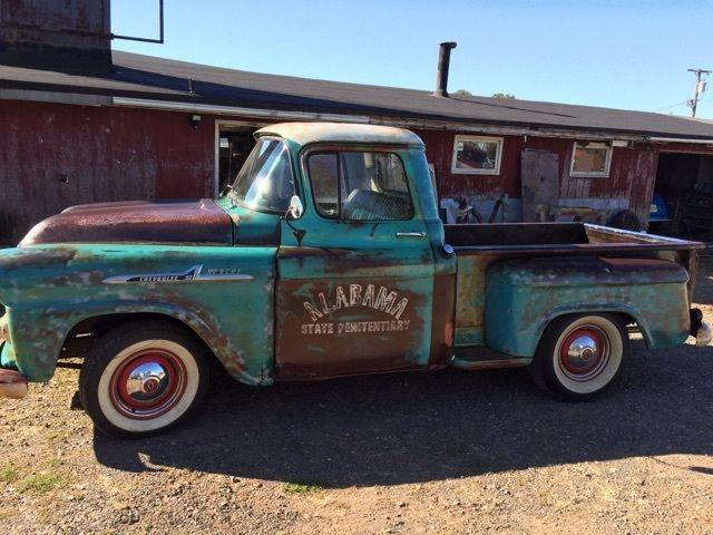 1957/58 chevy apache pickup