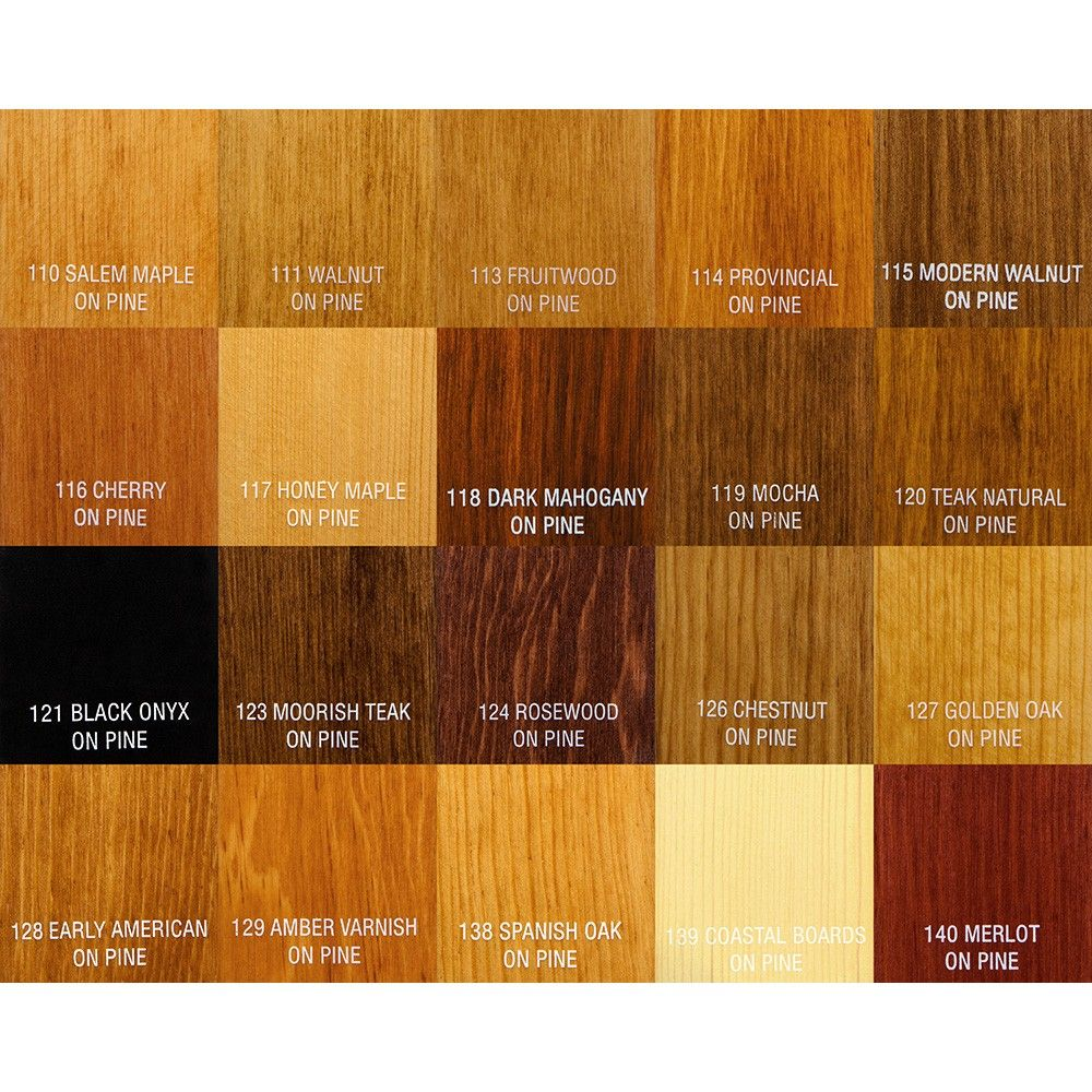 Oak Color Wood: Pin On Professional Results With Stain
