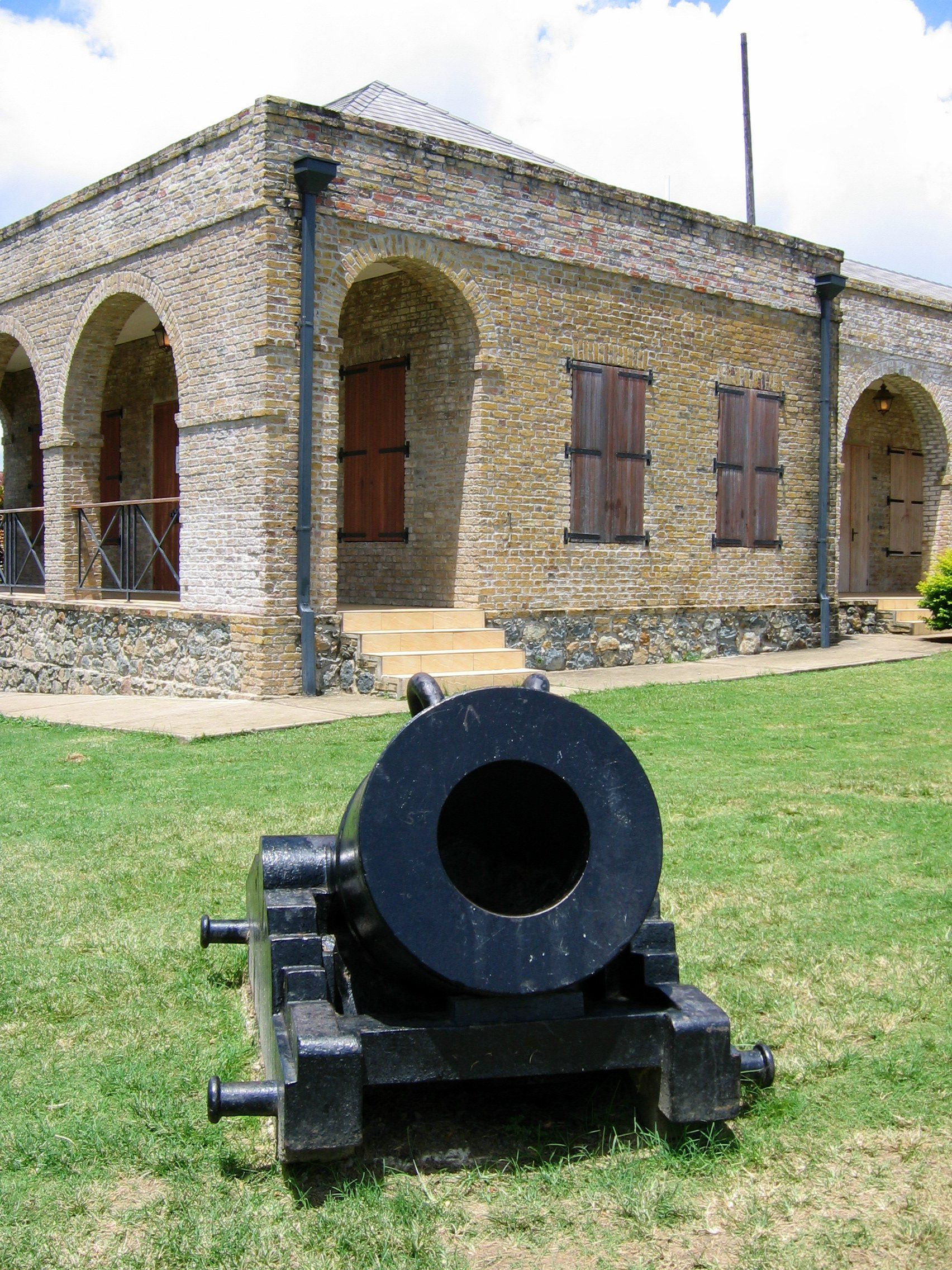 Check out some history. Fort King Scarborough