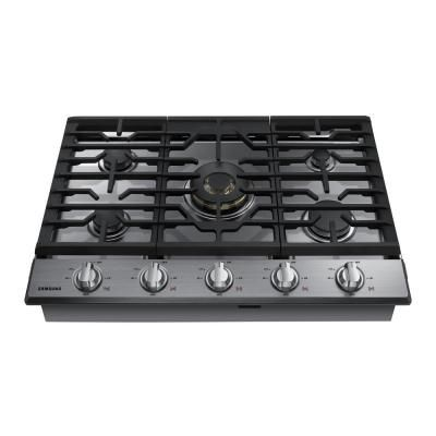 Frigidaire Gallery 30 In Gas Cooktop In Stainless Steel With 5 Burners Fggc3047qs The Home Depot In 2020 Gas Cooktop Cooktop Gas Cooker