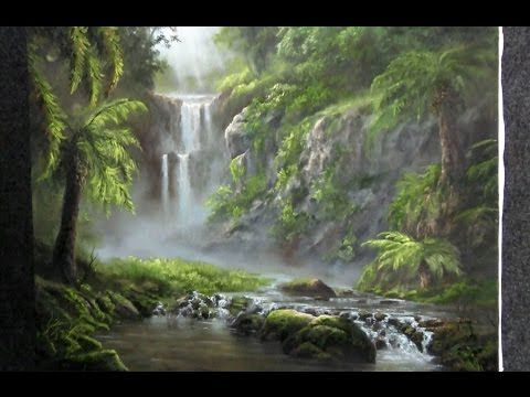 Paint With Kevin Hill Hidden Paradise Kevin Hill Paintings Kevin Hill Landscape Paintings